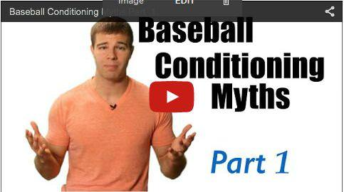 Baseball Conditioning Myths